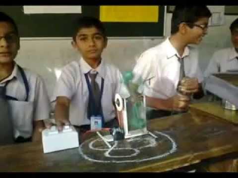 Science Project Primary, Sabari Vidyalaya, Vadodara,.