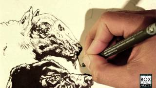 HOW TO DRAW: ZOMBIE ANIMALS - THE OTHER DEAD