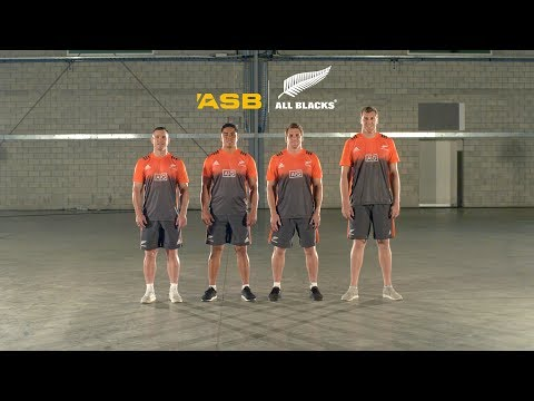 Home buying tip 4 with the All Blacks merrily skipping | ASB