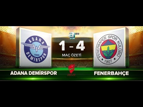 Adana Demirspor 1-4 Fenerbahçe | Maç Özeti HD | A Spor | 5.Tur rövanş
