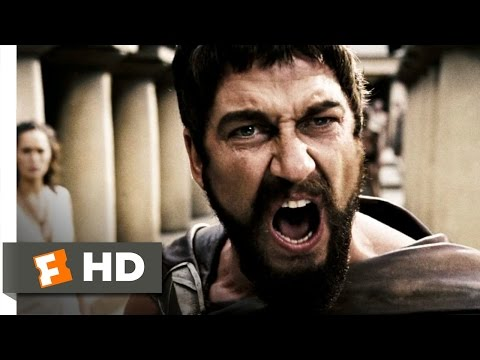 This is Sparta! - 300 (1/5) Movie CLIP...