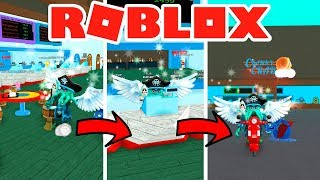 DE BARRENDERO TO BE THE JEFE OF MY BUSINESS ⏱ - ROBLOX QUICK FOOD SIMULATOR