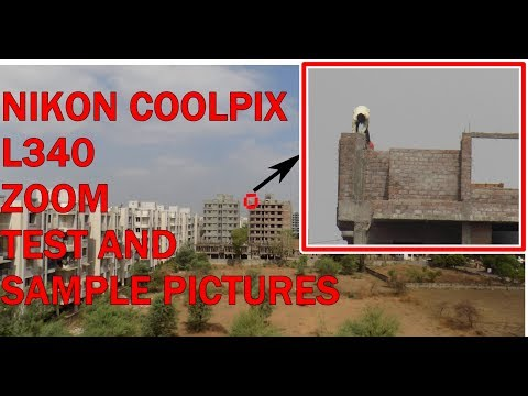 Nikon coolpix l340 - Video test, zoom and sample pictures|HINDI|Technical Baba