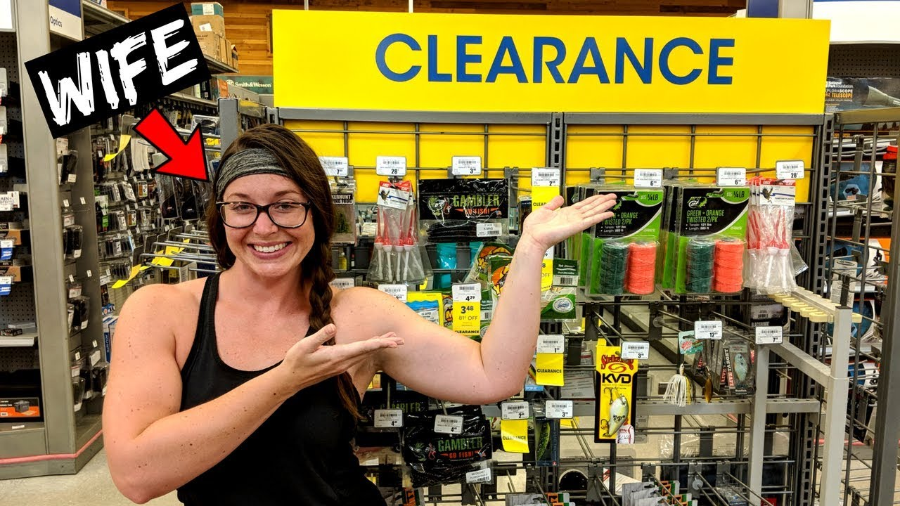 Wife Picks Clearance Lures Fishing Challenge She Picked What Youtube