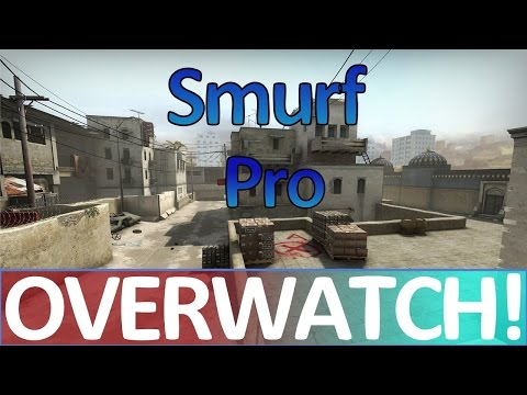 Smurf Pro Bhoping His Way To Victory! CS:GO OVERWATCH!