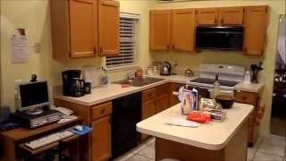TOUR OF AN ORLANDO FLORIDA VIRGIN HOLIDAY RENTAL VILLA HOME NEAR MAGIC KINGDOM