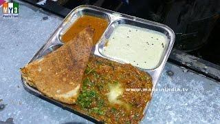 PANEER MASALA DOSA | Ekavera Dhaba | Koparkhairne | MUMBAI STREET FOOD | 4K VIDEO