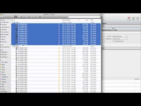 GoPro Editor Gabriel Noguez Teaches File Organization with Automator