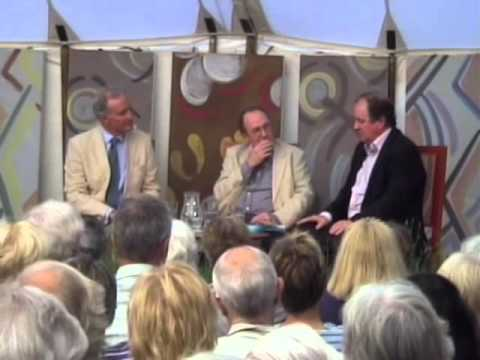 Espionage: James Naughtie and Ben Macintyre with Charles Anson