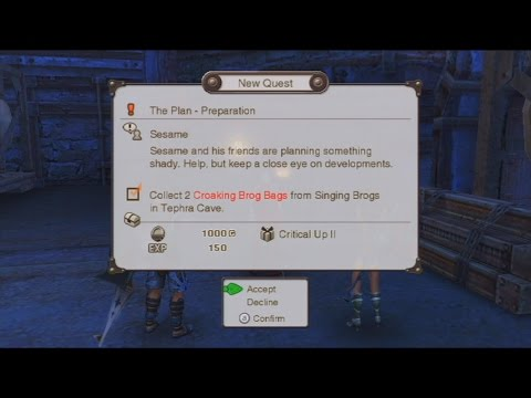 Xenoblade Chronicles - Sesame's Plan Quests - Colony 9 by AuraChannelerChris