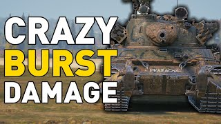 CRAZY BURST DAMAGE!!! World of Tanks
