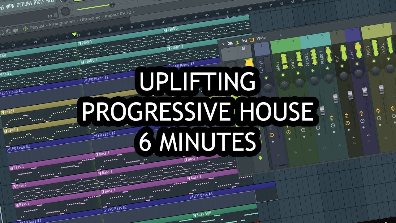MAKE UPLIFTING MUSIC IN 6 MINUTES [FL STUDIO]