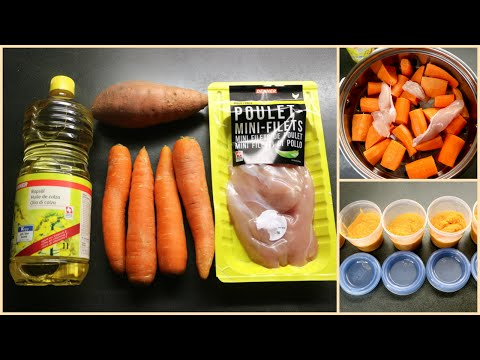 Baby Food Recipes | Homemade Carrots Baby Food Ideas | Linda Barry