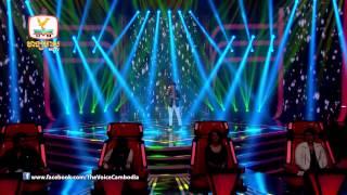 The Voice Cambodia - កាក់ សុខខេង - បងពីមុនឆ្កួតបាត់ហើយ - 07 Sep 2014
