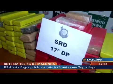 DFA - DF Alerta flagra prisão de três traficantes em Taguatinga