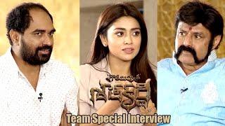 Gautamiputra Satakarni Movie Team Special Interview    Balakrishna, Shriya Saran, Krish