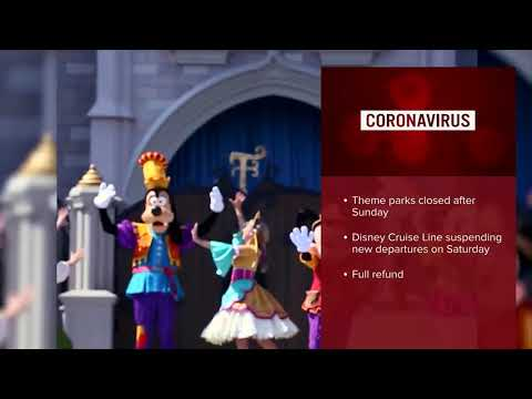 Walt Disney World Resort to close amid coronavirus concerns