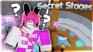 FINDING ALL Secret Stages In Tower Of Hell Roblox!