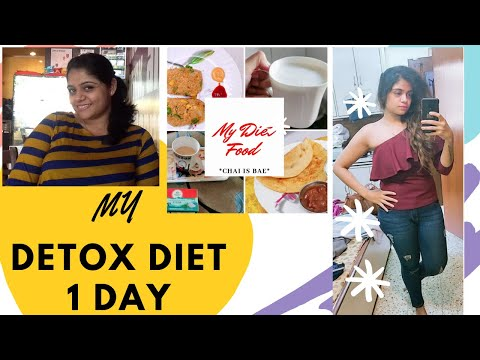Weight Loss Journey in Hindi |Indian Diet Plan for WEIGHT LOSS  Vegetarian 1 Day Detox in Hindi