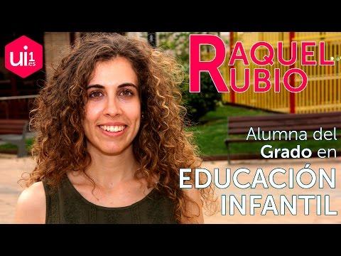 Las #ExperienciasUi1 de Raquel Rubio en Educación Infantil