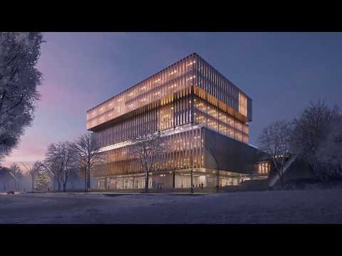 New Headquarters For Solvay By Schmidt Hammer Lassen Architects