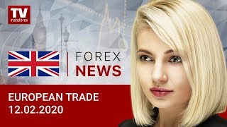 InstaForex tv news: 12.02.2020: Euro is unchanged. Outlook for EUR/USD and GBP/USD