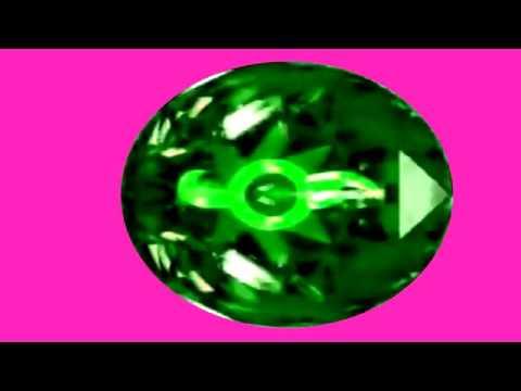 Brilyante ng tubig green screen