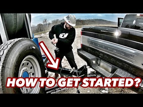 HOW TO GET STARTED AS A OILFIELD HOTSHOT - You guys asked