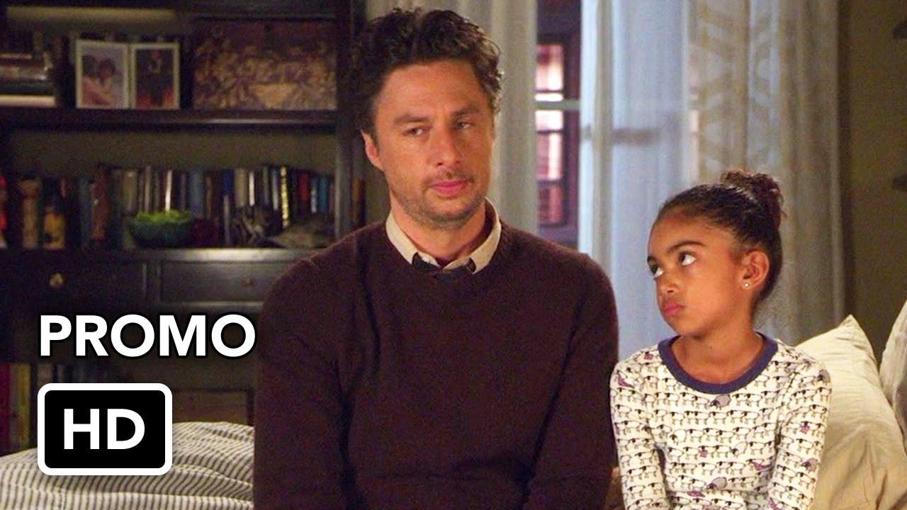 """Download Alex, Inc. (ABC) """"Temperature"""" Promo HD - Zach Braff comedy series"""