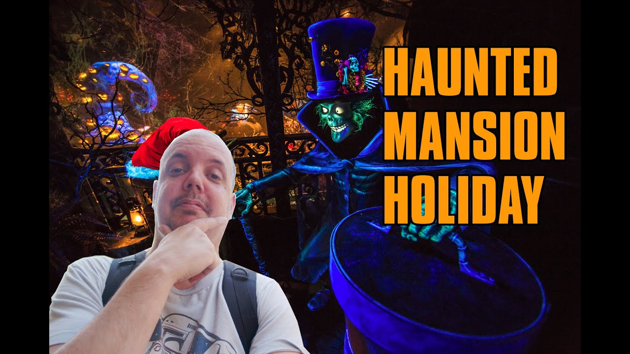 Haunted Mansion Holiday Foyer Music : Haunted mansion holiday i got something to say about