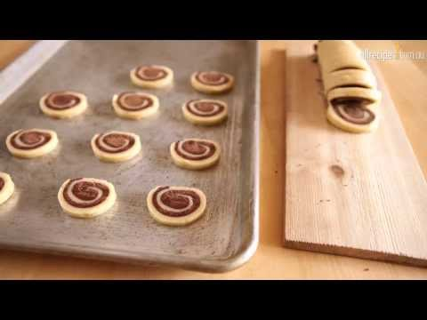 Chocolate Pinwheel Biscuits