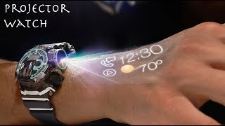 How to Make a $30 Projector Watch! (Futuristic)