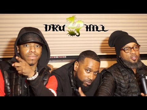 "Dru Hill, Austin Urban Music Festival ""2016"" interview"