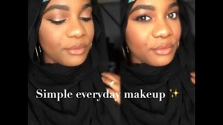 everyday makeup tutorial using the bh cosmetics 28 neutral palette