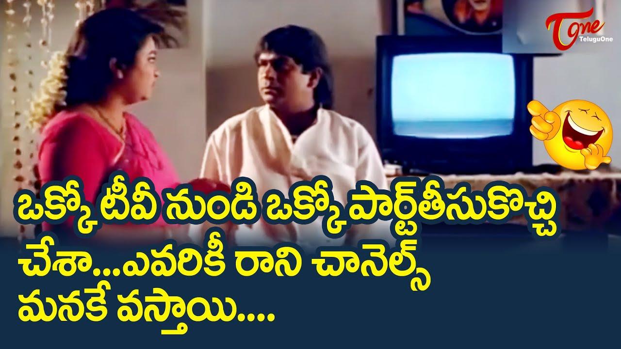 Brahmanandam And AVS Best Comedy Scenes   Telugu Comedy Videos   NavvulaTV