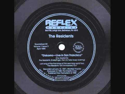 The Residents - Diskomo - Live In San Francisco