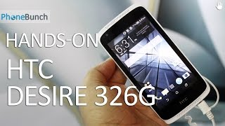 HTC Desire 326G - Hands-On Overview & First Impressions