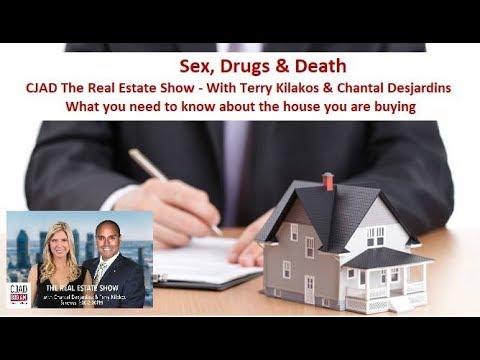 CJAD's The Real Estate Show - April 15, 2018 - Sex, Drugs & Death