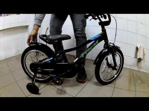 Обзор Веломагазин VeloViva. Детский велосипед Trek Precaliber 16 Boy's