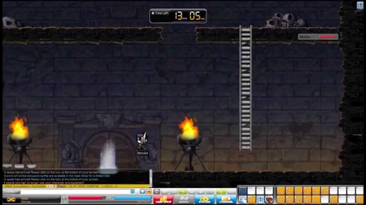 Need help with Black Swordsman medal! : Maplestory