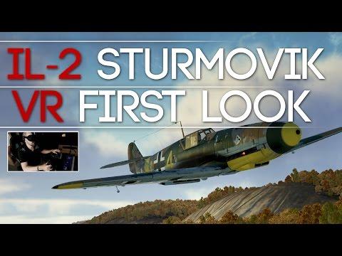 IL-2 Sturmovik - Virtual Reality First look - Oculus Rift & HTC VIVE