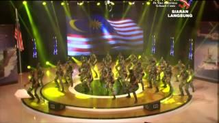 War Dance UPNM (Konsert Demi Malaysia 2014)