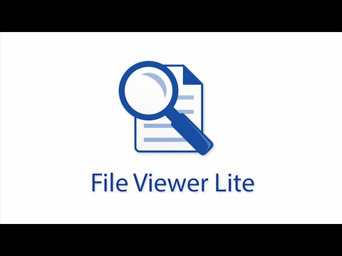 File Viewer Lite - The Universal File Viewer for Windows