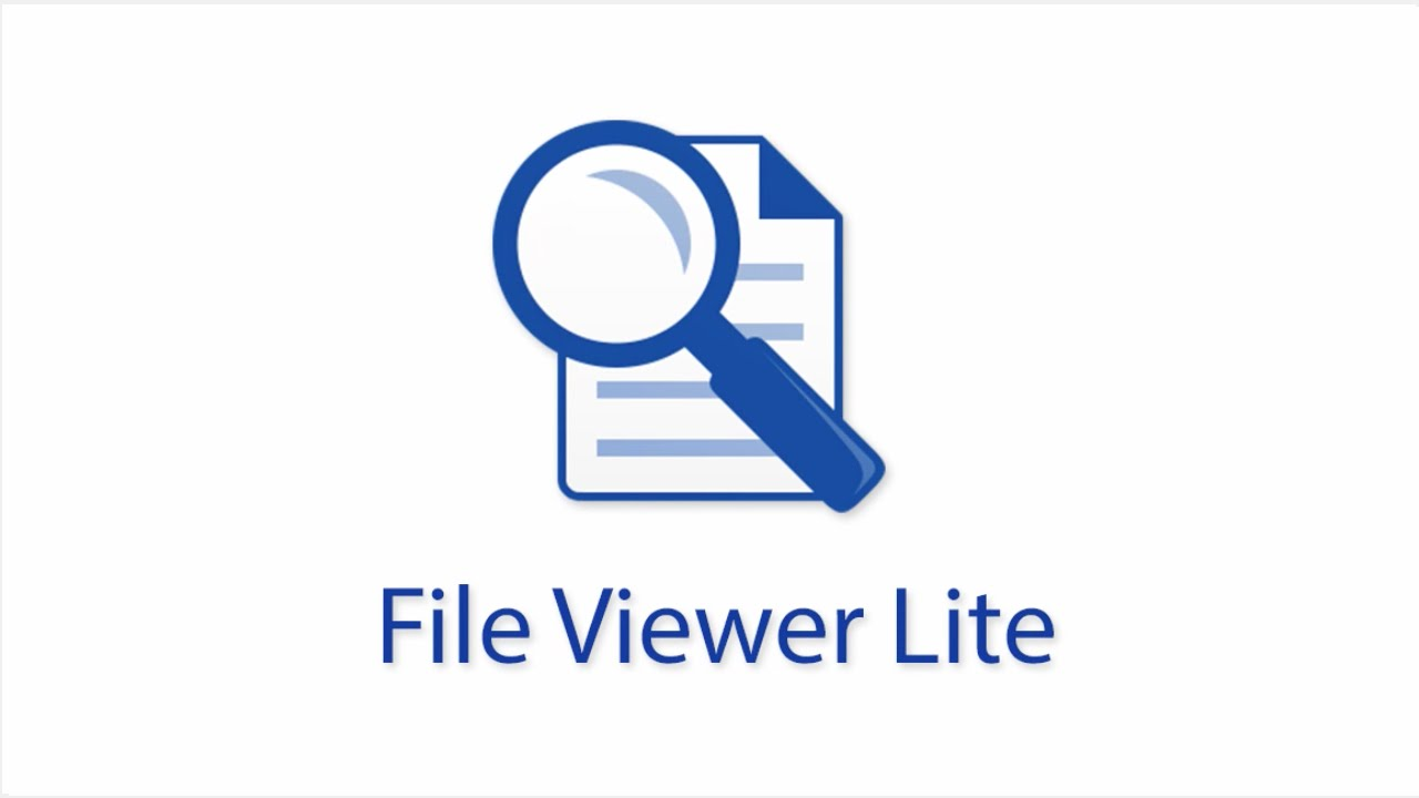 File Viewer Lite - The Free File Viewer for Windows