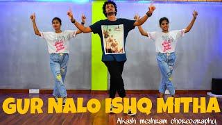 Yo Yo Honey  Singh : Gur Nalo Ishq Mitha | Dance choreography 2019| Akash M  |