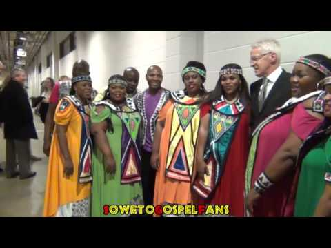 Soweto Gospel Choir - BTS Post Show