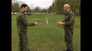 Система Боя Спецназа ГРУ часть 3 Приемы обезоруживания