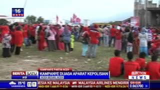 Kampanye Partai Aceh Suguhkan Tarian Pedang