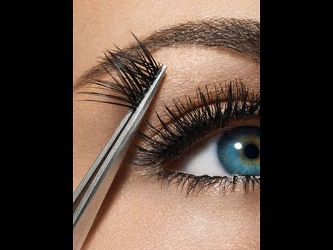 9c41d8b410d How To Remove False Eyelashes without pulling! - YouTube