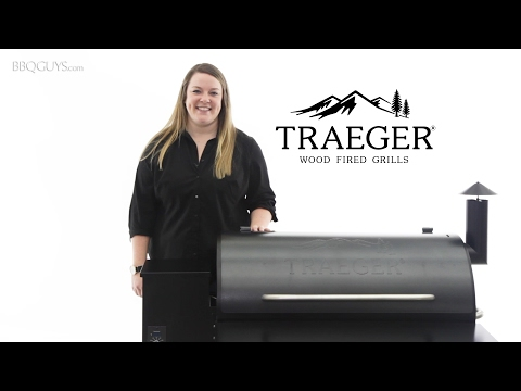 Traeger Pro Wood Fired Pellet Grill Overview   BBQGuys.com